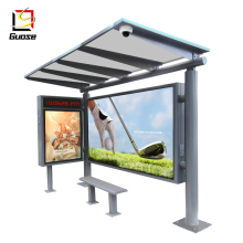 Guose Reclame Bus Led Display Screen Onderdak Fabrikanten Metalen Onderdak