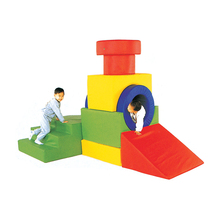Peuter Foam Soft Play Indoor Cube Speeltuin <span class=keywords><strong>Kinderen</strong></span> Baby Zone Klimmer Games <span class=keywords><strong>China</strong></span>