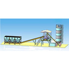 Types of concrete batching plant capacity
