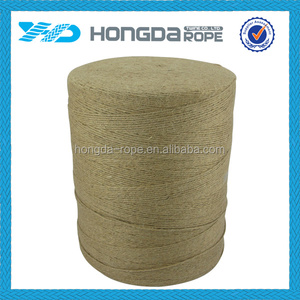 Natural color jute rope 1mm for handicraft