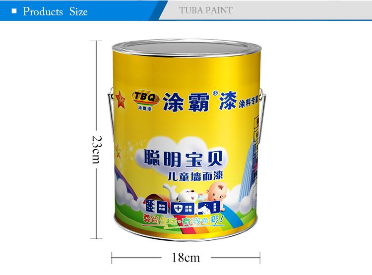 튜바 뜨거운 스프레이 우드 페인트 낮은 VOC 어린이 페인트