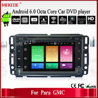 7inch Android 6.0 Octa Core car DVD player with 2G RAM /32G ROM for PARA GMC