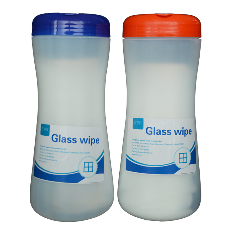 Pre-Moistened disposable car glass clean duster cloth glasses wipes
