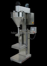 Stainless steel 304 manual powder packaging machine/dry powder injection filling machine