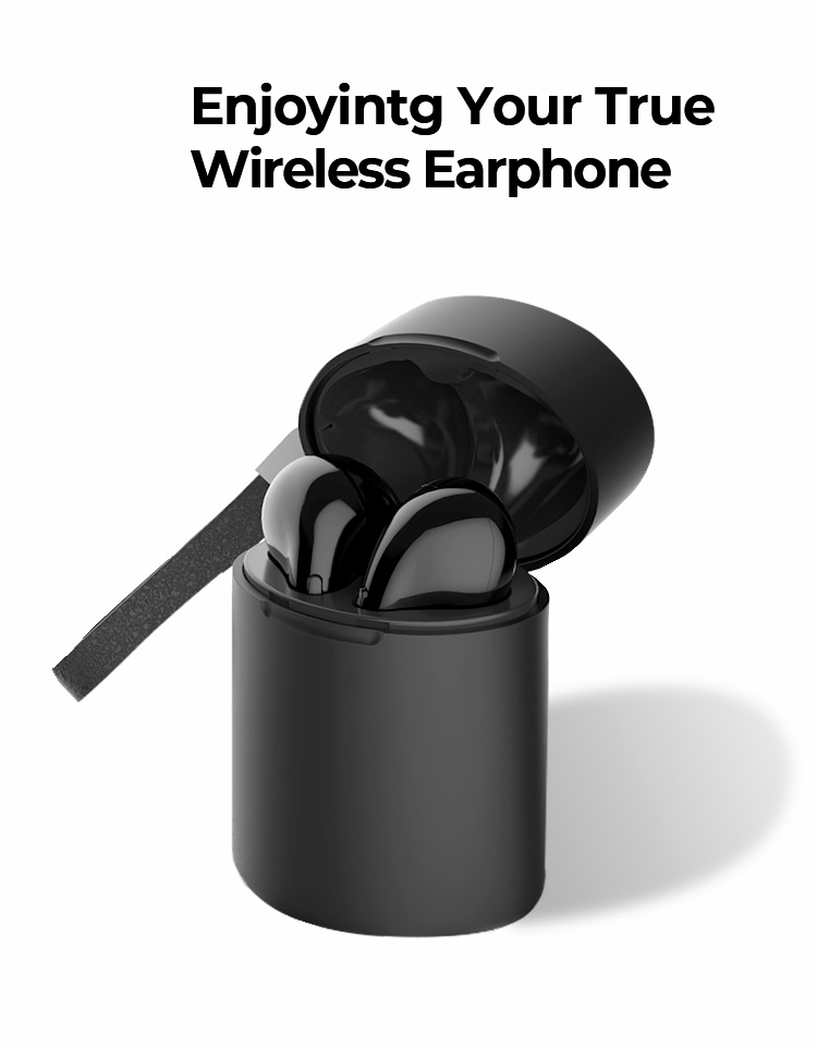 2019 Newest Model Blue tooth Wireless TWS Earphone 5.0 Dual Ear Mode Phone Call With Super High Bass Sound Airoha 1526P Chipset