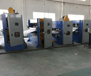Automotive headlining nonwoven felt making needle punching machine