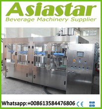 Bottle monobloc rinsing filling and capping machine