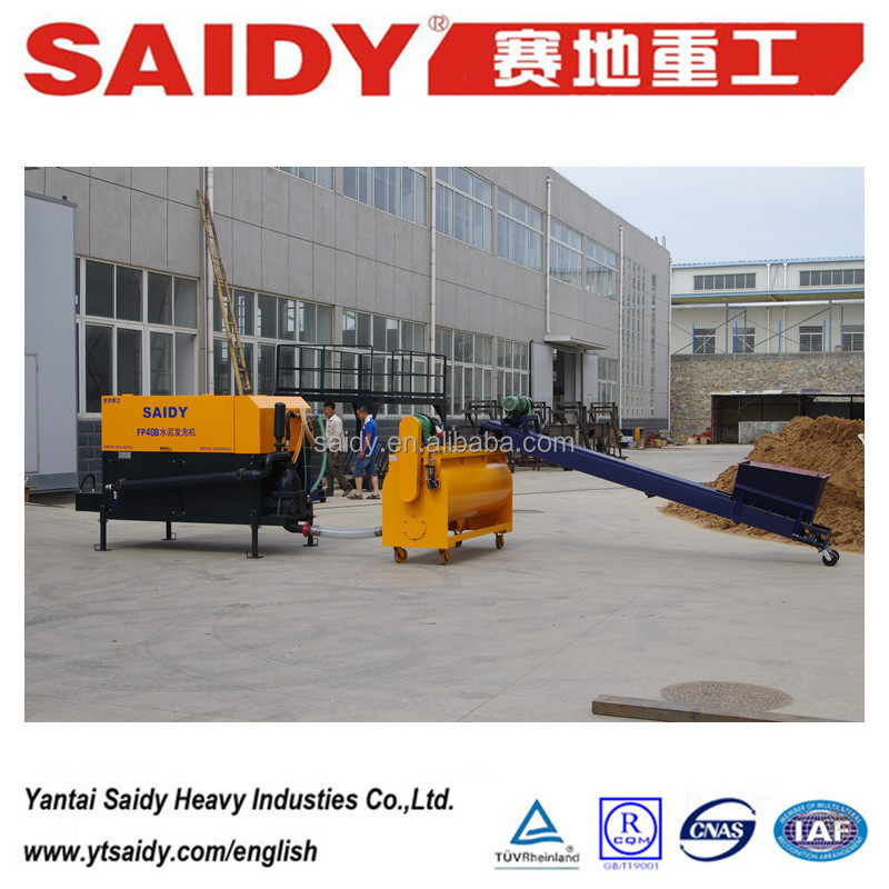 Saidy brand FP40B cellular concrete equipment