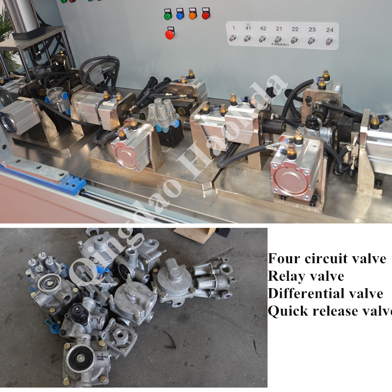 Valve Test Bench for truck bus