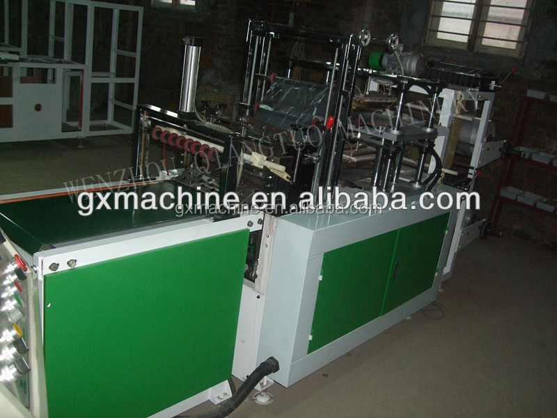 Disposable HDPE LDPE Plastic Gloves Food Gloves Making Machines/ food grade glove making machine
