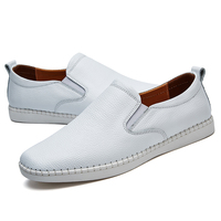 wholesale Comfortable Mocassin Casual Working Party Plain Loafers Flat Shoes Men