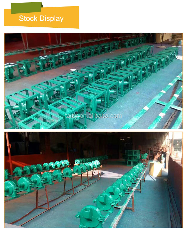 disk mill corn grinder machine small corn mill grinder for sale