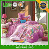 Comfortable high quality elegant floral pure cotton printed latest bed sheet designs