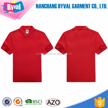 Online Shopping 100 Cotton Blank Plain Polo Shirts Custom Printing