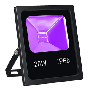 20W IP65 Waterproof Ultraviolet UV Lamp LED Portable Black Light Flood Light for Outdoor Party Halloween Decoration