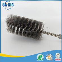 spiral twisted type stainless steel wire brush