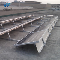 Ballasted Flat Roof Solar PV Panel Mounting Brackets Structure/System