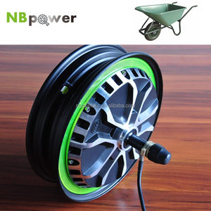 500w electric wheelbarrow hub motor kit for garden tool set
