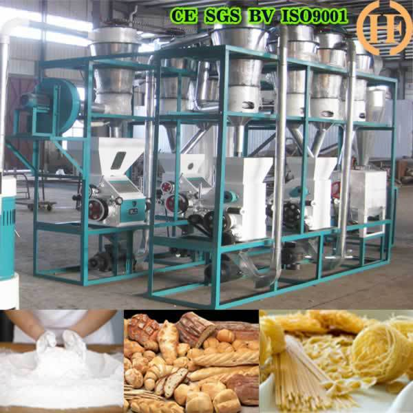 China manufacture small type wheat grain roller mills milling grinder mill