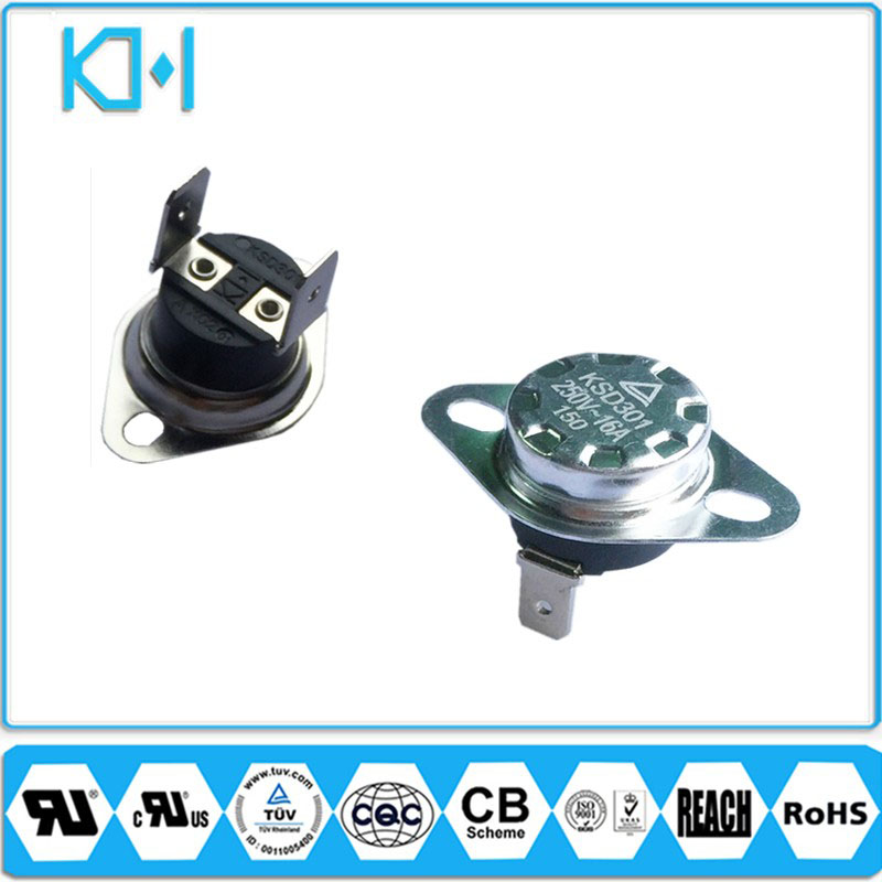 Termostatos ksd301 5a 250v Automatic Thermal Protector Thermostat Dometic