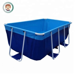 PM-10 Portable Movable Family Canvas Bracket Adult Frame Swimming Pool