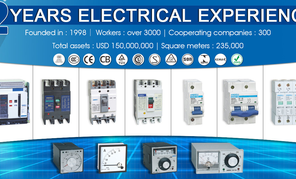 Andeli Group Co Ltd Highlow Voltage Electric Components