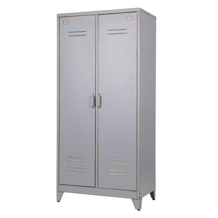 Bedroom Furniture Wall Wardrobe Design 2 Door Locker Colorful ...