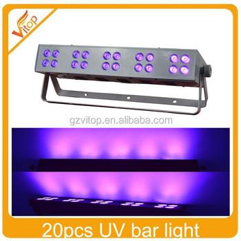 Wash machine 20pcs 3watt led uv bar light for sale led stage 20pcs 3watt led uv bar light for sale led stage night light aloadofball Choice Image
