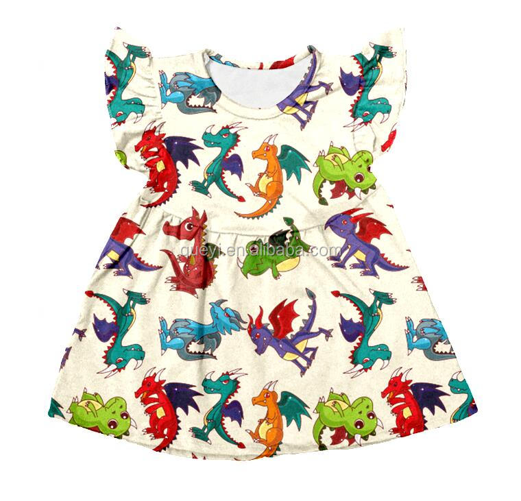 6dcc8e4d0af6 Baby Frock Designs Summer Kids High Grade Girls Dress New Style Baby ...