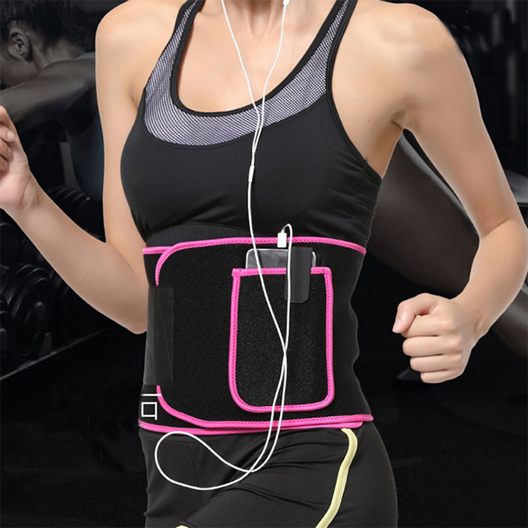 Back Support Powerlifting Neoprene Weightlifting  Belt  Fitness