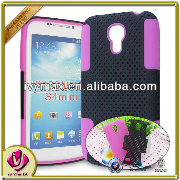 ivymax pc silicone mobile phone covers for samsung galaxy s4mini