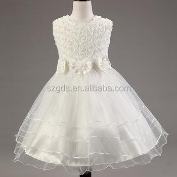 Mode Europäischen Stil Sommer Hochzeit Blumenmädchen Kleid ...
