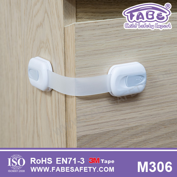 M306 Fabe Dual button Multi-function child safety locks Baby safety locks