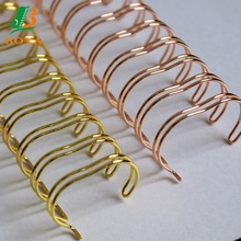 Good Quality Plating Double Wire O Ring Double Coil Double Loop Wire With Different Size