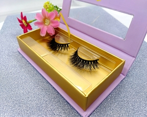 Private Label Packing Qingdao Layer Eyelashes 100% mink fur 3D mink Eyelashes Wholesale Price False Strip Eyelash