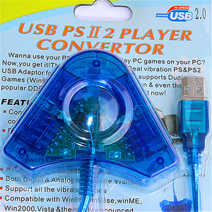USB PSII 2 PLAYER CONVERTER WINDOWS DRIVER DOWNLOAD
