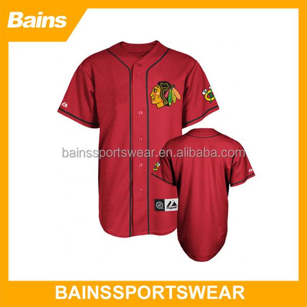 blank baseball jersey 5xl