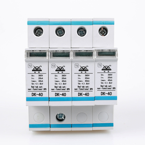 Parallel Type Power Surge Protection Modular Easy Maintained Long Life Lightning Protection Device For Security