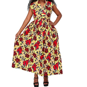 Women vintage plus size dashiki printed sets african kitenge dress designs  pictures for fat ladies, View african kitenge dress designs pictures, ...