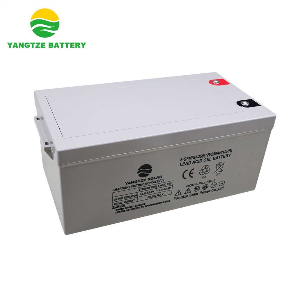 3 years warranty long life deep cycle solar gel <strong>battery</strong> 12v 250ah price
