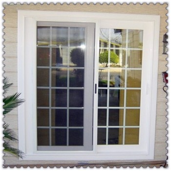 Cheap Aluminium French Windows With Grill Design For Sale