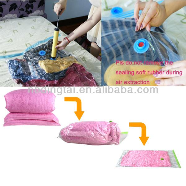 Vacuum Wedding Dress Storage Bag With
