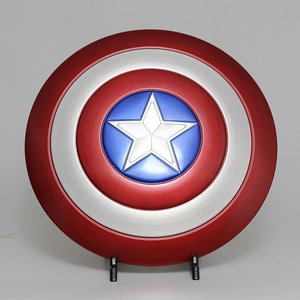 1:1 full aluminum captain america shield metal