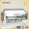 hotel and restaurant supplies food warmer indian brass chafing dish