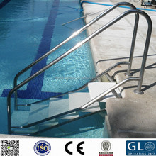 High-quality mirror SUS 316L swimming fance Handrail Tube, stainless steel railing holding pipe fence brackets