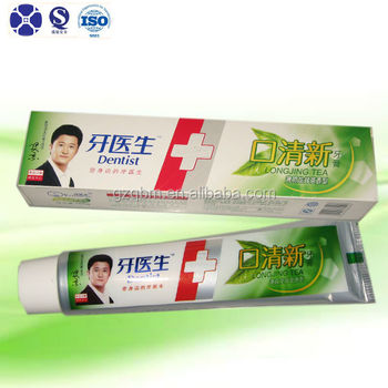 Reasonable Price Green Tea Fresh Breath Toothpaste/Whitening Tooth paste