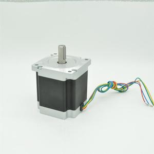 4axis High torque Nema 34 Stepper Motor dual or single shaft 1600 oz-in CNC Router kit wire and connector