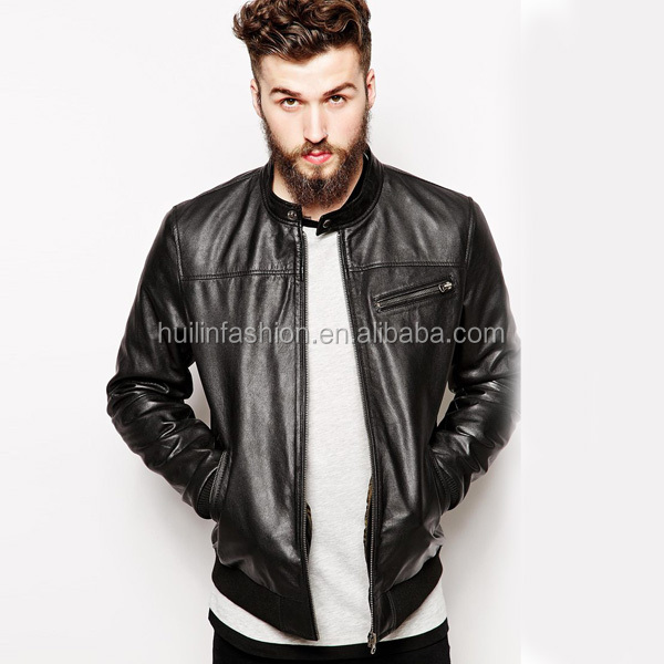 2015 Hot Sale Parkistani Pure Leather Jacket Styles For Men - Buy ...