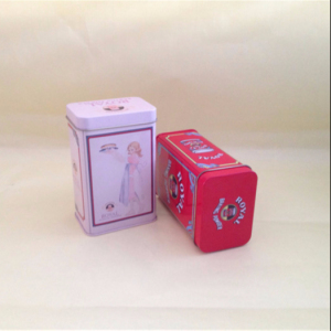 chinese manufacturer Sealing ring lid Flavored Royal Tea tin box