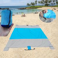 Ripstop nylon outdoor mat/ Beach Blanket Built In Pocket bulk buy from China